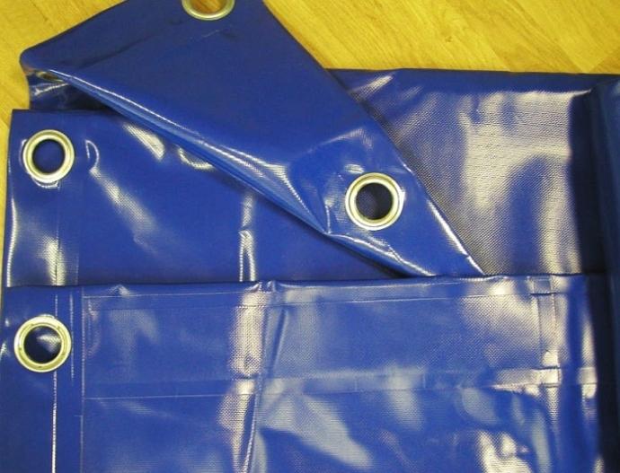 Krycí plachty s oky PVC 570g/1m²