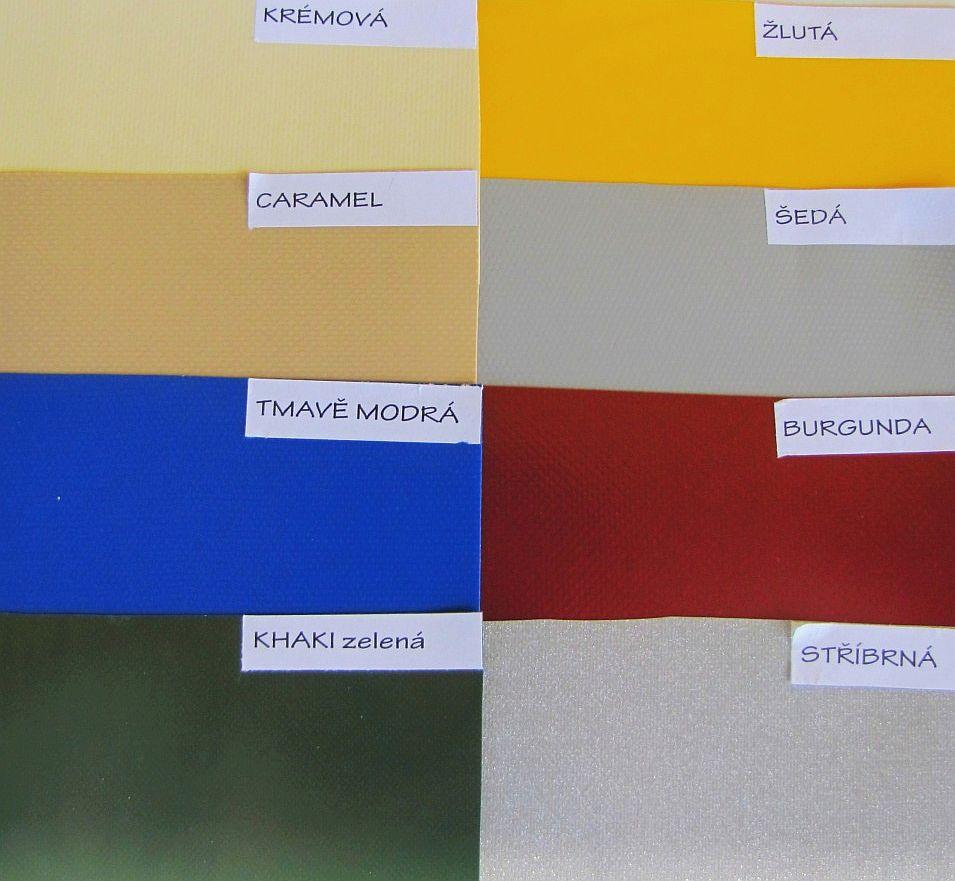 Krycí plachty z PVC plachtoviny 420-630g/m² zakázková výroba - cena za 1m²