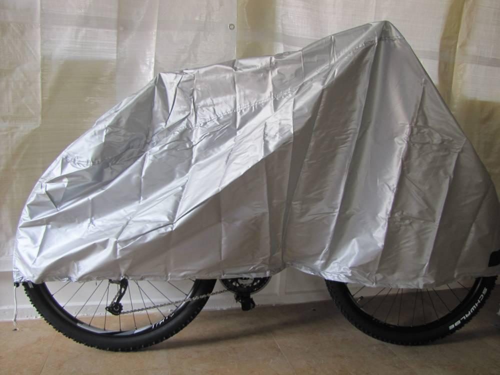 Plachta na jízdní kolo