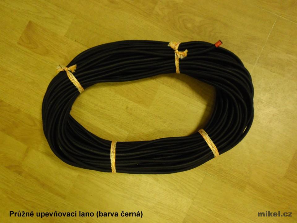 Pružné gumové lano