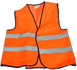 Reflexní vesta oranžová a žlutá