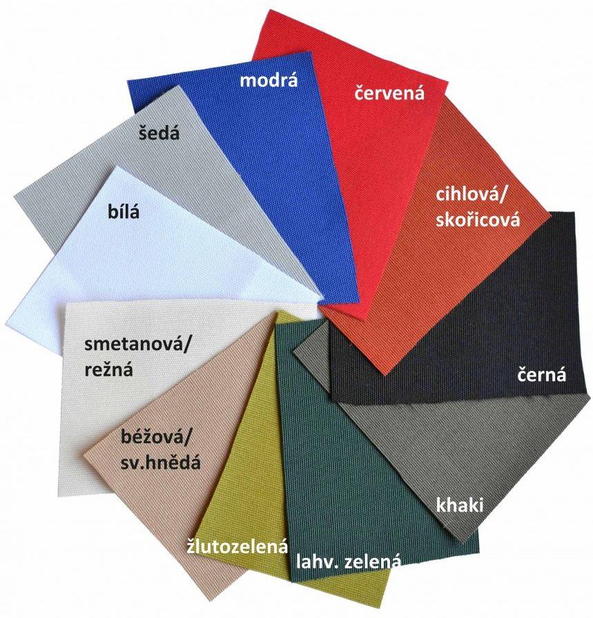 UBEON - polyesterová technická textilie s PUR zátěrem 220 g/m2