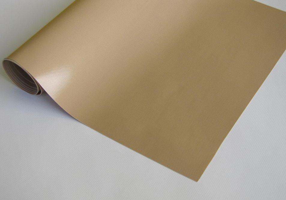 PVC plachtovina caramel