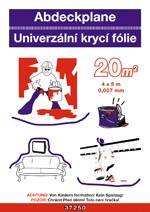 Univerz.krycí fólie 4x5M 0.030mm