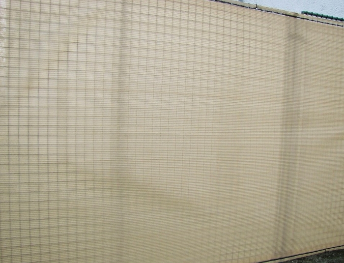 Stínící sítě na plot PloteS pískové 180g/1m² stínivost 90% - metráž