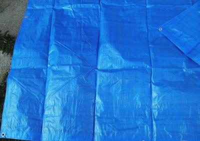 Krycí plachty s oky PE 80g/1m² modré