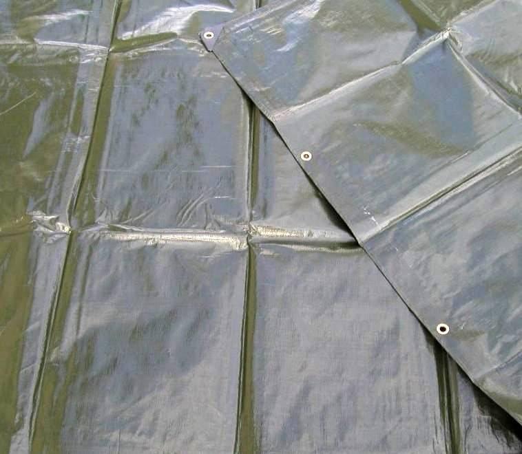 Krycí plachty s oky PE 200g/1m²